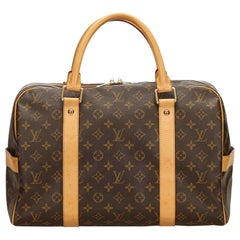Louis Vuitton Brown Monogram Carryall