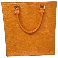 Louis Vuitton Sac Plat Epi Orange