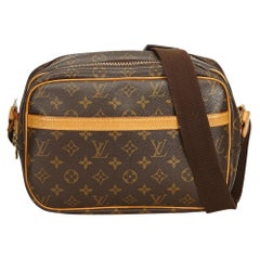 Louis Vuitton Brown Monogram Reporter PM