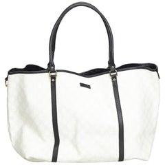 2c4da5b6b2f Gucci Gray GG Coated Canvas Tote Bag at 1stdibs