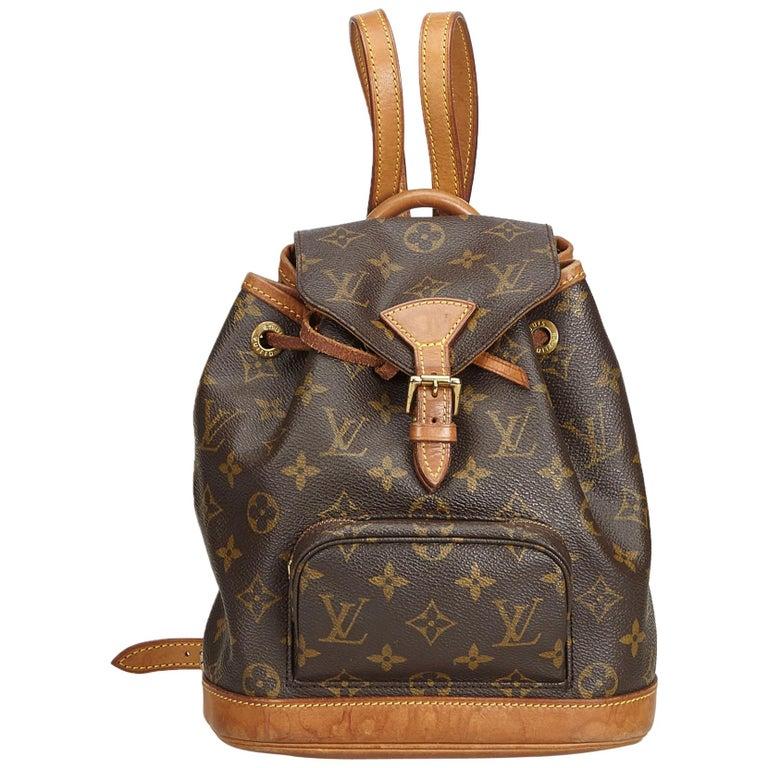 6ce8f493d983 Louis Vuitton Brown Monogram Mini Montsouris For Sale at 1stdibs