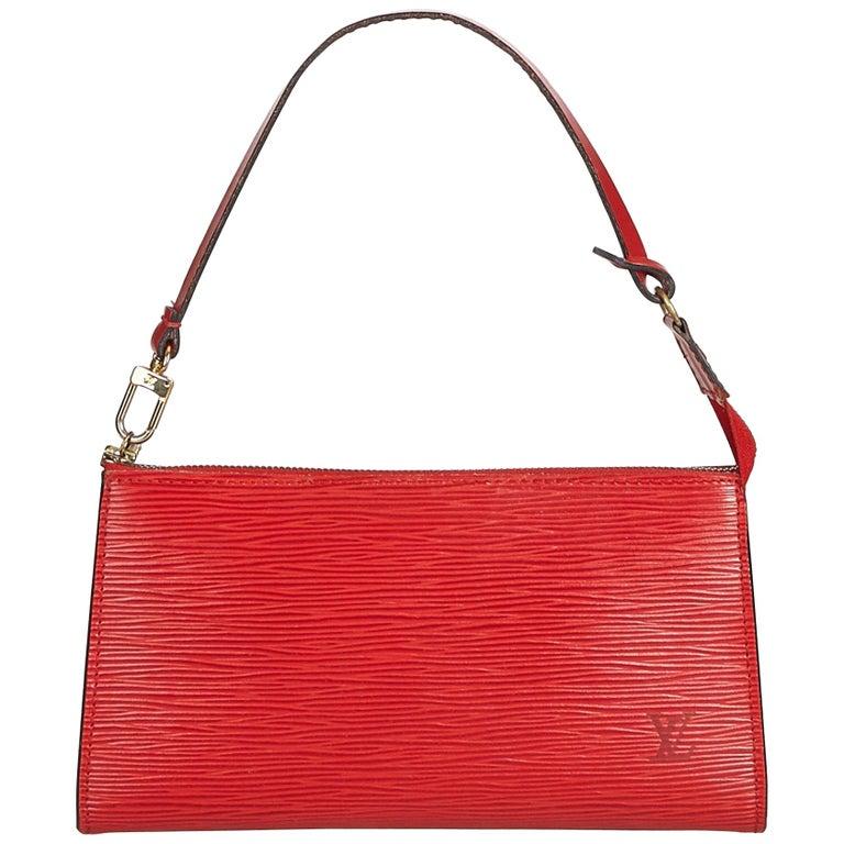 159d48204d05 Louis Vuitton Red Epi Pochette Accessoires at 1stdibs