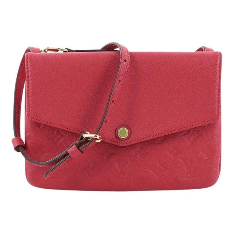 afe94c02591e Louis Vuitton Twice Handbag Monogram Empreinte Leather For Sale at ...