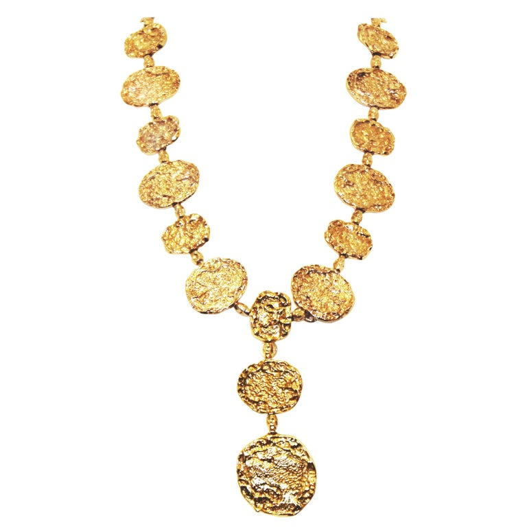 1970s Vermeil Rare Cartier Belt or Necklace For Sale