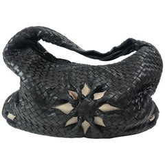 Bottega Veneta Floral Medium Intrecciato Hobo