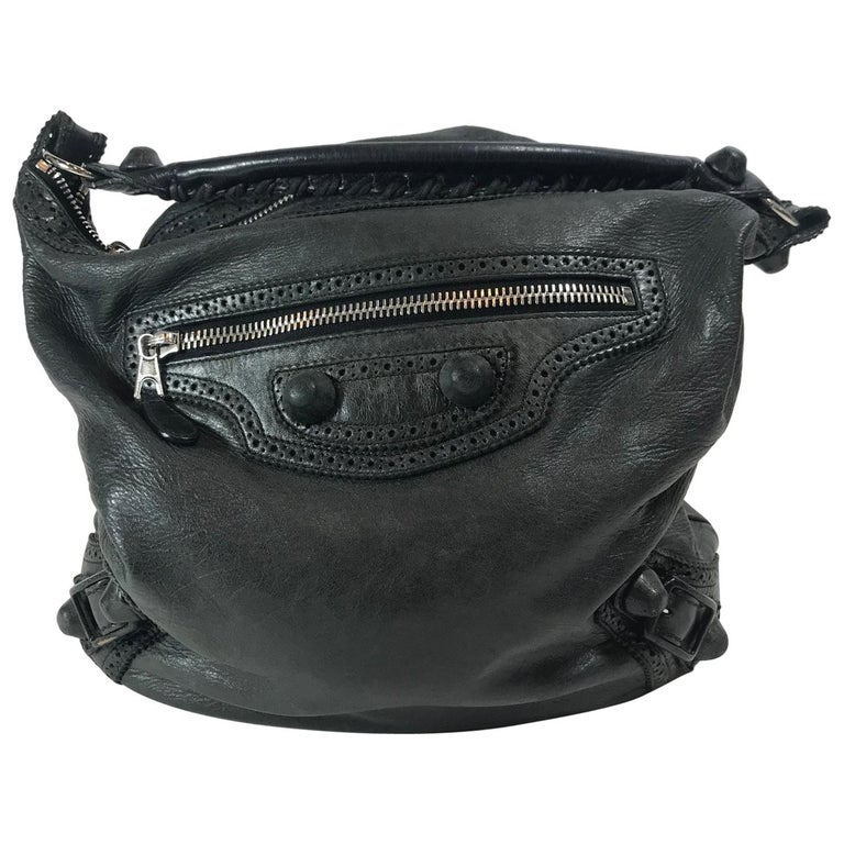 9d5f89bfcba3 Balenciaga Motocross Giant Covered Brogues Day Bag For Sale at 1stdibs