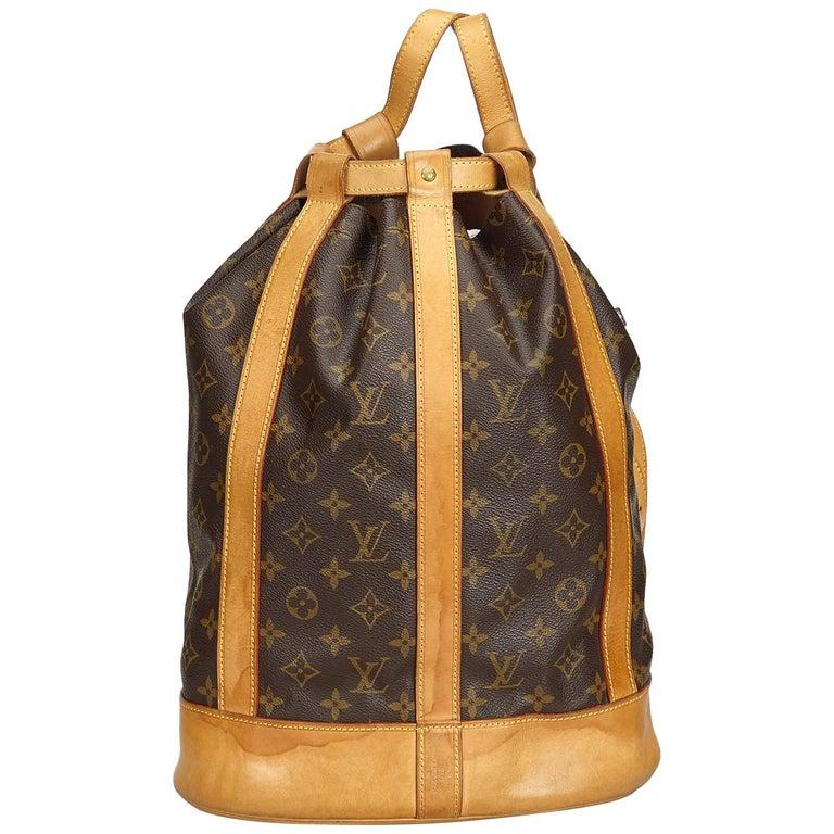ec4c28217063 Louis Vuitton Brown Monogram Randonnee GM at 1stdibs