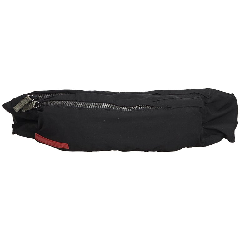 073254dcb977 Prada Black Sports Belt Bag at 1stdibs