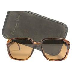 f38808a46b88 Vintage Christian Dior Monsieur 2164 Oversized Tortoise Sunglasses 1970  Austria