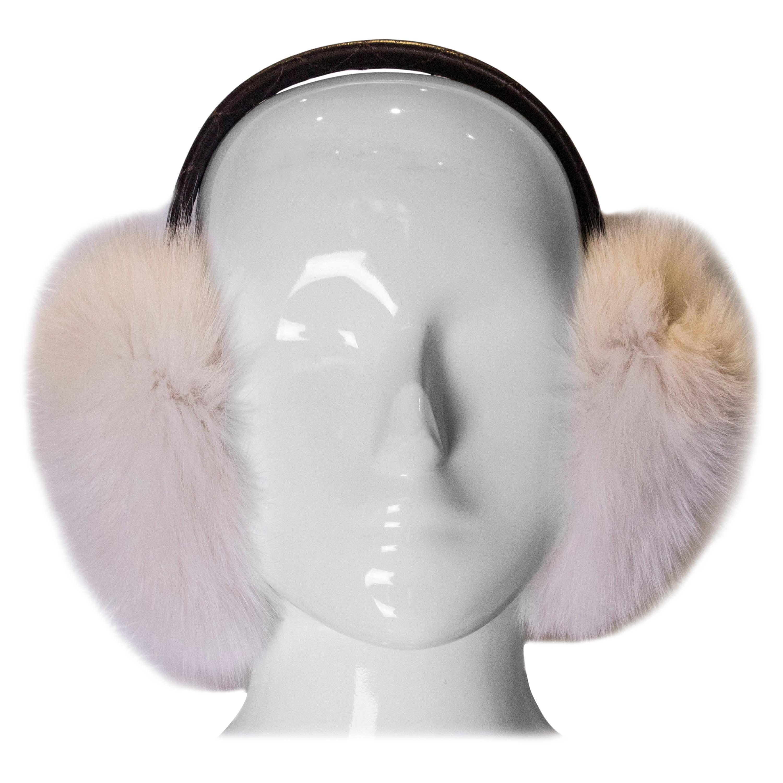 Vintage Fox Fur Ear Muffs