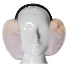 Vintage Fox Fur Ear Muffs