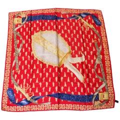 Vintage Moschino Silk Scarf