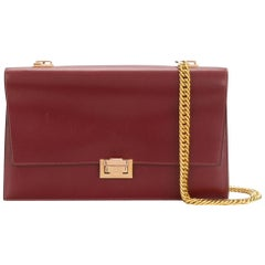 Hermes Bordeaux Shoulder Bag