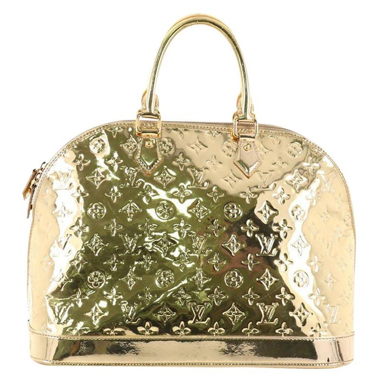 3830b4acb388 Louis Vuitton Alma Handbag Miroir PVC GM at 1stdibs