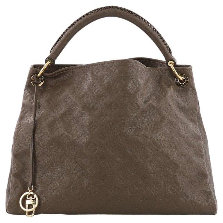 c0cf5f60b44c Louis Vuitton Artsy Handbag Monogram Empreinte Leather MM For Sale ...