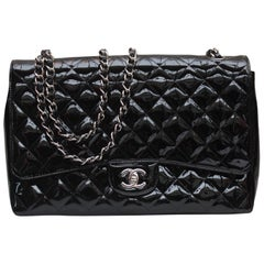 Chanel gorgeous black patent leather, 2009 – 2010