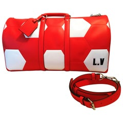 Louis Vuitton's 2018 World Cup Collection Bag, KEEPALL 50 EPI RED