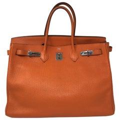 Hermes Birkin Orange 40