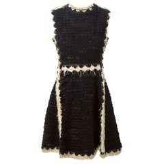 Lanvin Glitter Lamé Fringe Dress