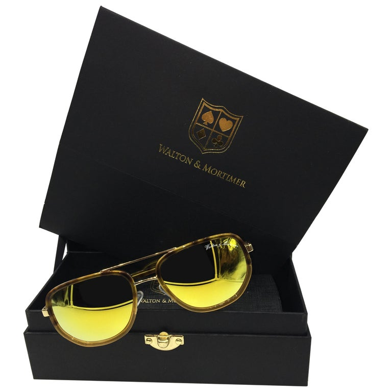 2e3c97f9db5 Walton and Mortimer Sunglasses HAVANA NUMBER ONE Limited Edition For ...