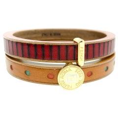 Fendi Bangle Bracelet Set.