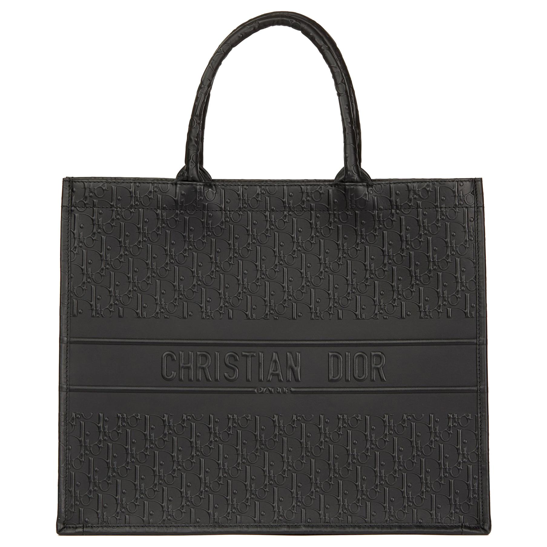 e024099195f3 2016 Celine Black Smooth Calfskin Leather Debossed Micro Luggage Tote For  Sale at 1stdibs
