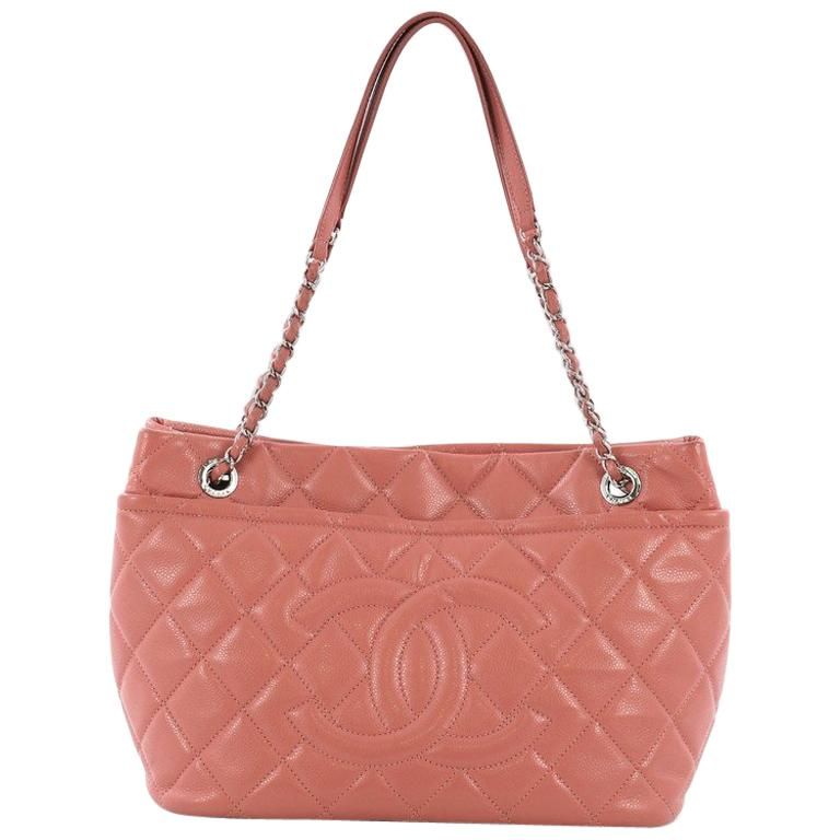 e6027f0da590 Chanel Timeless CC Soft Tote Quilted Caviar Large For Sale at 1stdibs