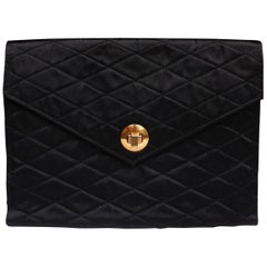 Chanel nice satin evening clutch