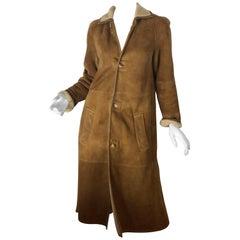 Ralph Lauren Black Label Shearling Coat