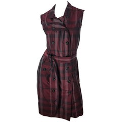 Burberry London Double Breasted Dress