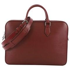 Louis Vuitton Dandy Briefcase Epi Leather MM