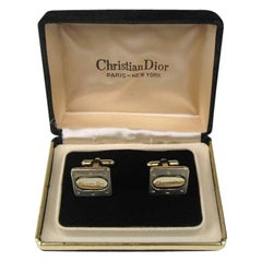 Christian Dior Men's Cuff links in original Box