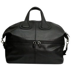 Givenchy Black Leather Nightingale Large Bag