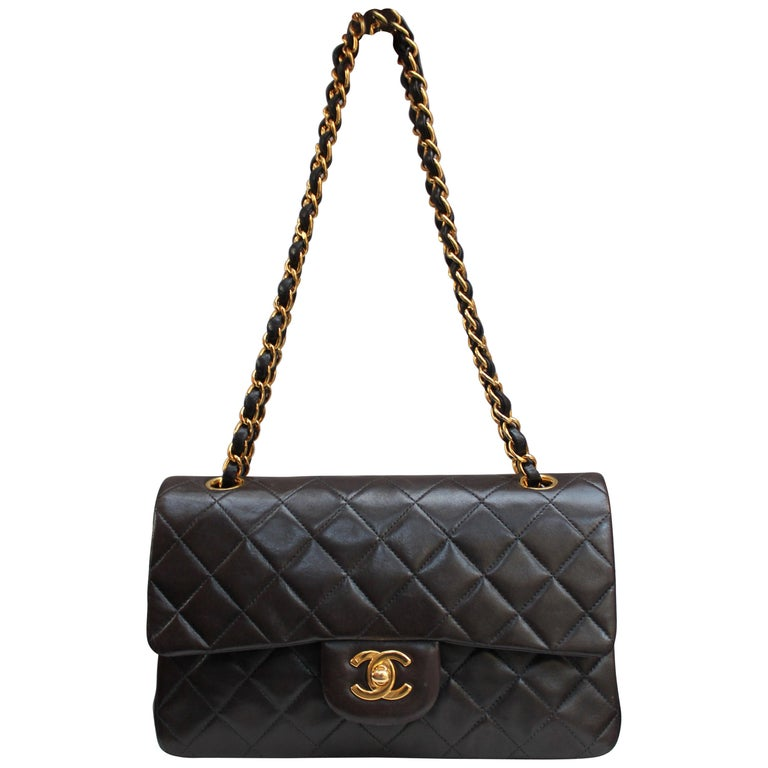"5696197c3141 Chanel ""Timeless"" brown lambskin bag For Sale at 1stdibs"