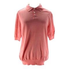 Louis Vuitton Pink Salmon Blouse 208730 Tee Shirt