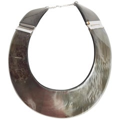 Martin Margiela large collar necklace
