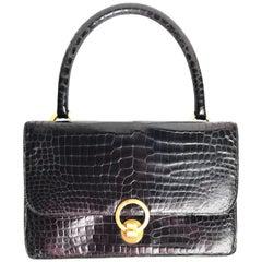 Hermès vintage Crocodile Sac Ring bag