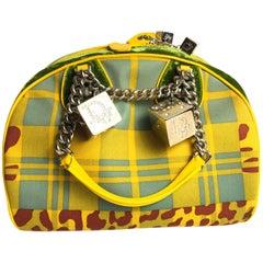 Christian Dior Gambler Dice Bowler Bag