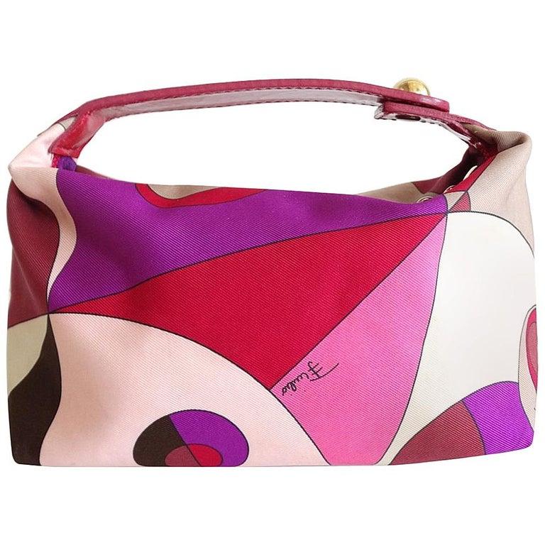 1960s Emilio Pucci Mini Bag  For Sale
