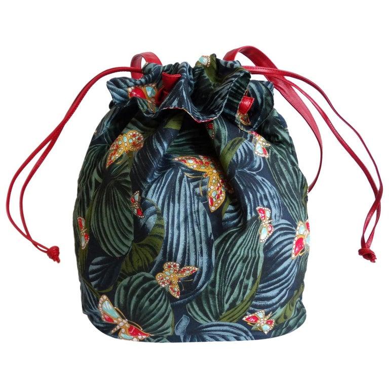1970s Bottega Veneta Rainforest Bucket Bag For Sale
