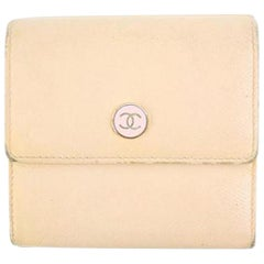 Chanel Pink Button Line 32cca41017 Wallet