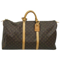 Louis Vuitton Monogram Keepall Duffel Luggage