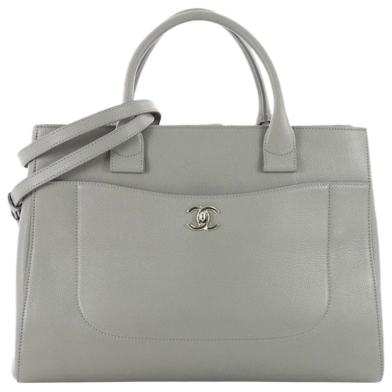 02cb4b3a42a7 Chanel Neo Executive Tote Grained Calfskin Medium at 1stdibs