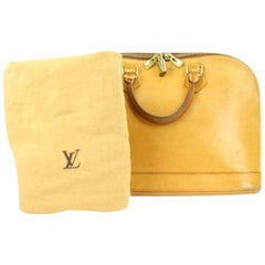 Louis Vuitton Alma ( Extremely Rare ) Anniversary Nomade Vachetta 214712