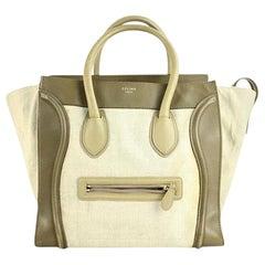 Céline Luggage Olive Mini 13cela2617 Beige Satchel