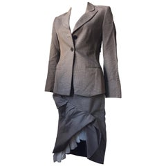 Jacket and Skirt Suit by the Belgian Designer Anna Heylen