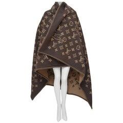 Louis Vuitton X Grace Coddington Catogram Classic Large Blanket  NEW