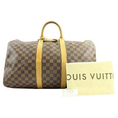 Louis Vuitton Keepall ( Extremely Rare ) Centenaire 107lva129 Weekend/Travel Bag