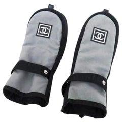 Chanel Grey Cc Logo Golf Club Covers 213215