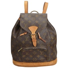 Louis Vuitton Brown Monogram Montsouris MM